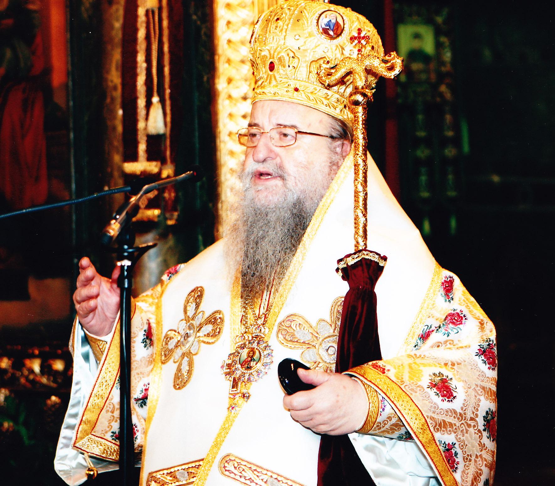 Ο Μητροπολίτης Θεσσαλονίκης κ.κ.Άνθιμος ομιλών